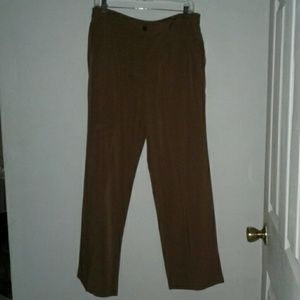 NWT JM Collection Toffee Beige Pants Size 12 P